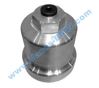 Oil filter housing made ​​of aluminum 06D115408A, 06D115408B