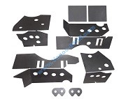 BMW E46 Chassis Subframe Repair Reinforcement Plate Kit