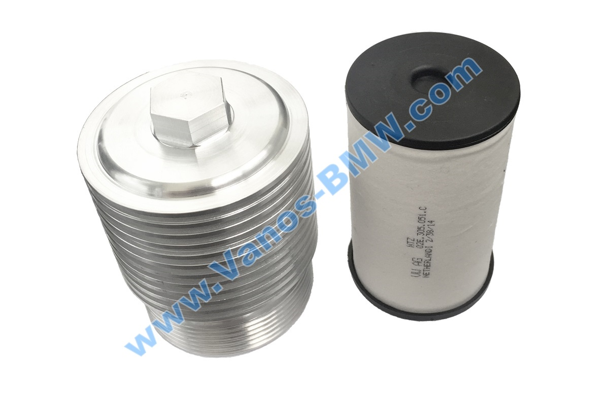 Aluminum filter housing DSG-6 DQ250 VAG 02E305045