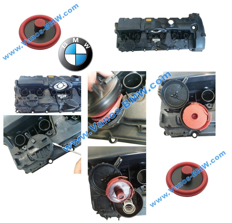 N52K Crankcase ventilation valve for BMW engines N51 N52 N52N