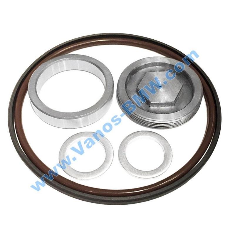 Single Vanos Seals, Rattle Repair Kit + Nut (6-cyl)